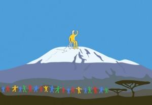 Team Aron Kilimanjaro Scotten IT Consulting